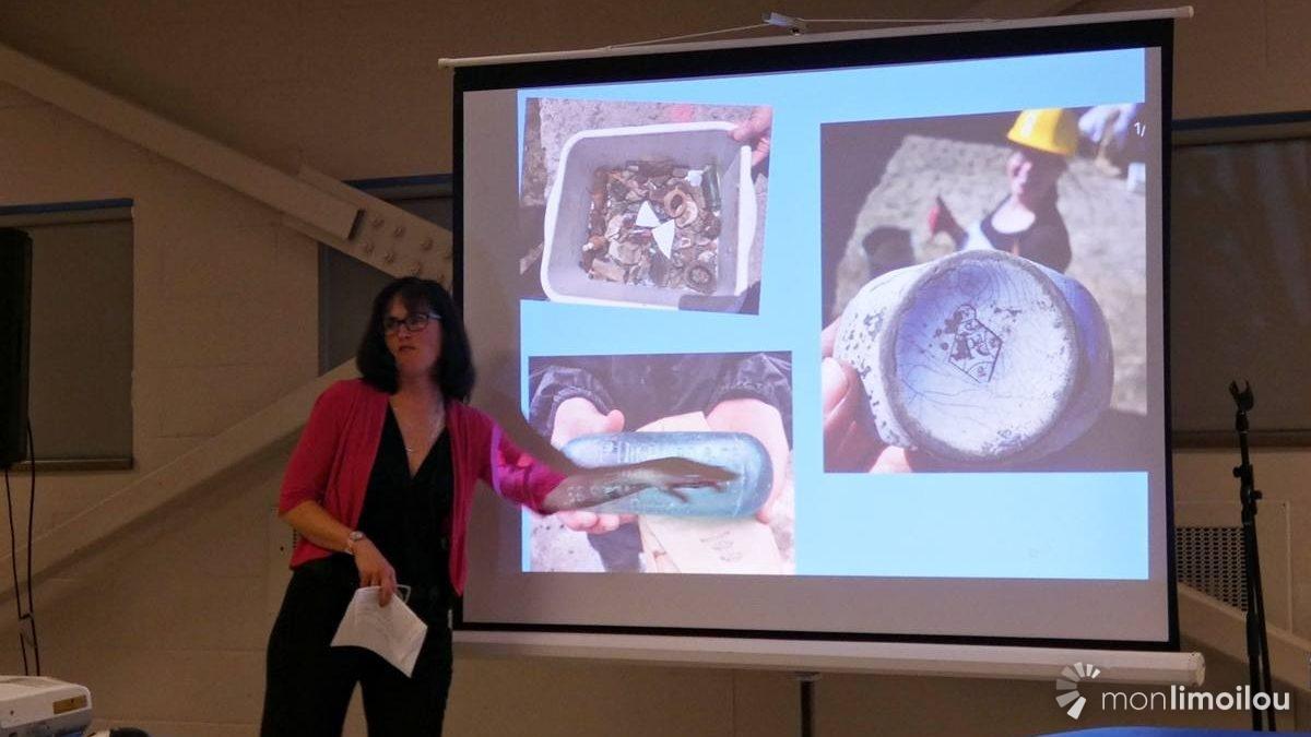 Conférence sur les fouilles archéologiques