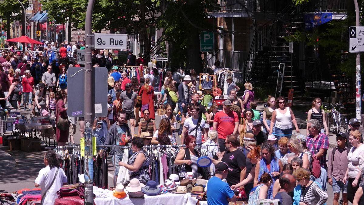 «Le Bazar des ruelles, c'est un événement dont on peut être fier, je pense, parce qu'il représente bien le quartier.»