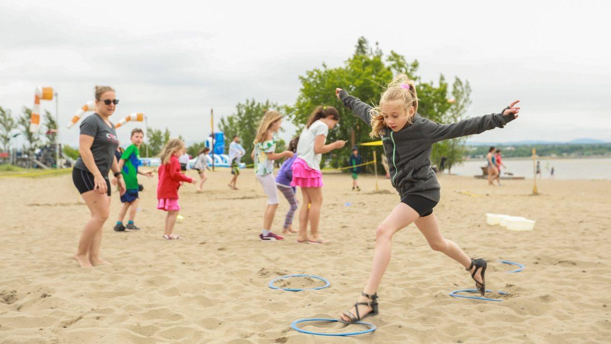 La Journée gratuite Financière Sun Life a attiré des centaines de familles à la Baie de Beauport