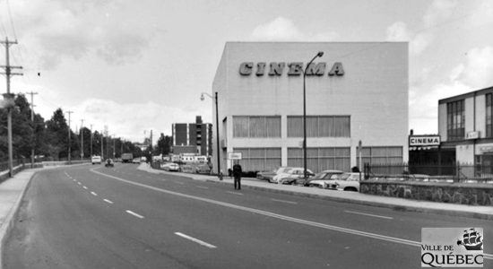 Limoilou dans les années 1970 (30) : le Cinéma Canardière - Jean Cazes