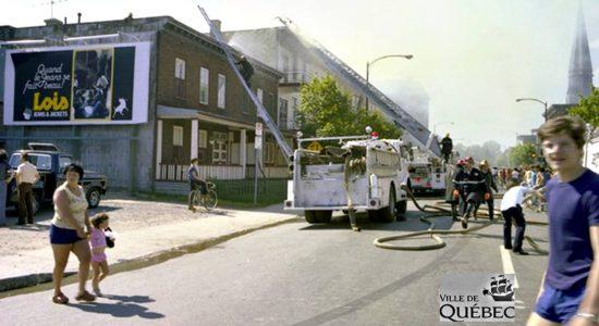 Limoilou dans les années 1970 (31) : incendie sur la 2e Avenue - Jean Cazes