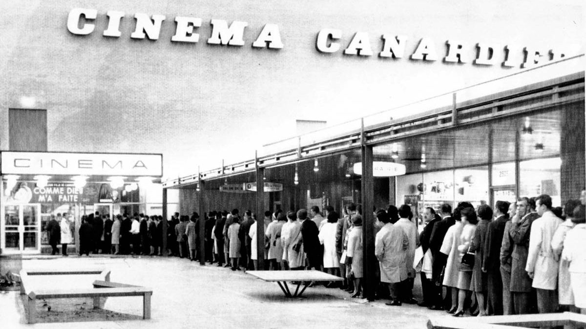 Cinéma de la Canardière. Mai 1964.