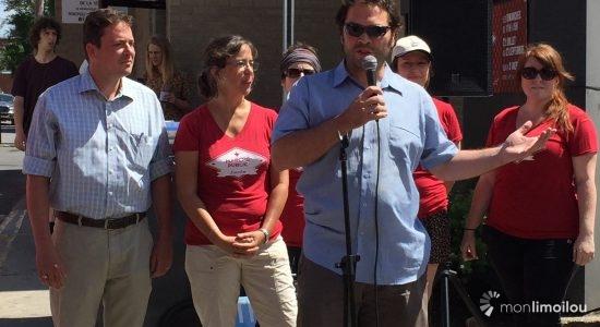 Marché public de Limoilou : entre légumes et fruits, la solidarité - Caroline Roy-Blais