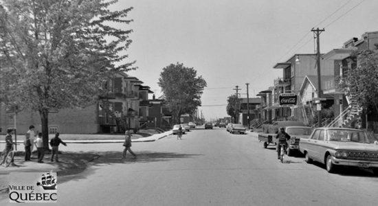 Limoilou dans les années 1960 (99) : intersection des Saules Est et Sir-Thomas-Chapais - Jean Cazes