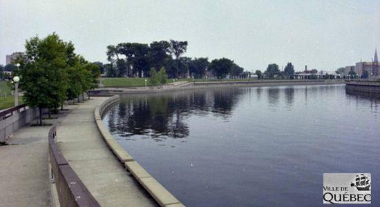 Rivière Saint-Charles, 1981.