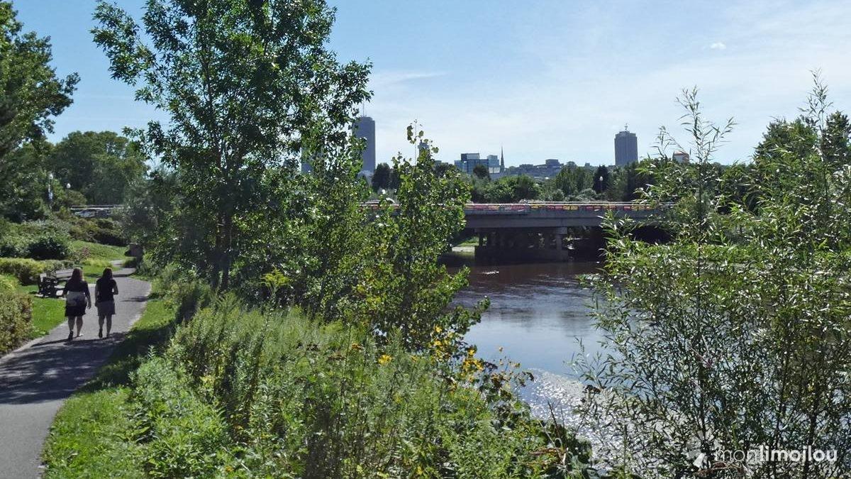 Parc linéaire de la rivière Saint-Charles. 2018