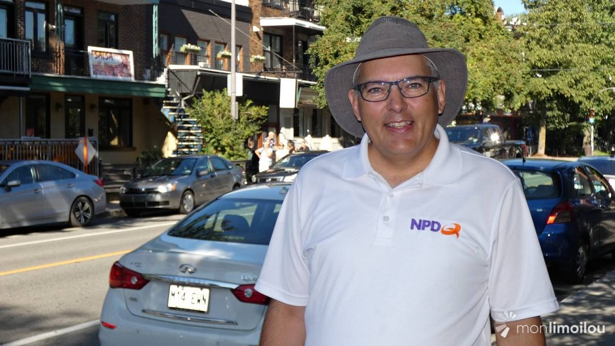 Raymond Côté, candidat du Nouveau Parti démocratique du Québec dans Jean-Lesage | 13 septembre 2018 | Article par Baptiste Piguet