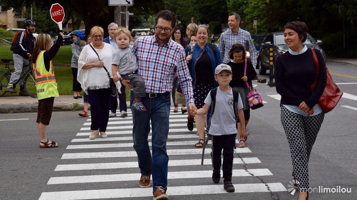 Des chemins d'écoliers pour renforcer la sécurité et le transport actif | 5 septembre 2018 | Article par Viviane Asselin