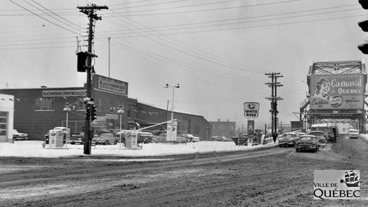 Limoilou dans les années 1960 (105) : l'entrée ouest du quartier, de l'industriel au naturel | 24 février 2019 | Article par Jean Cazes