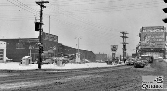 Limoilou dans les années 1960 (105) : l'entrée ouest du quartier, de l'industriel au naturel - Jean Cazes