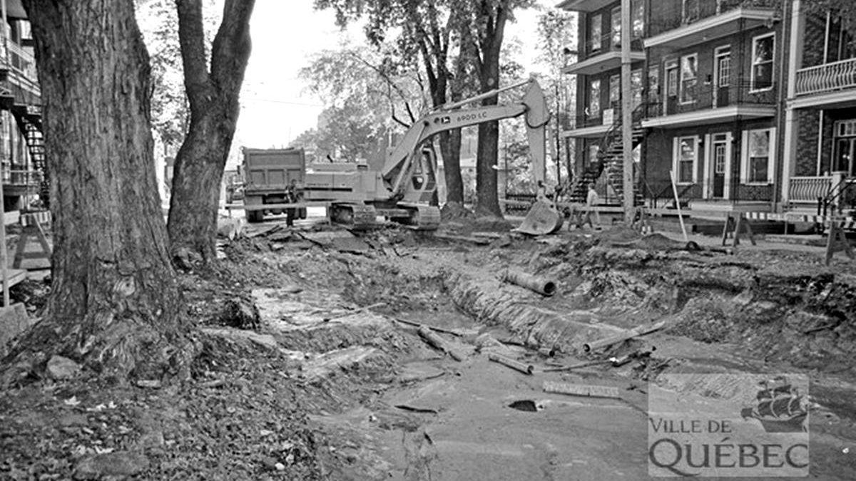 Limoilou dans les années 1980 (17) : travaux de voirie sur la 11e Rue | 29 septembre 2019 | Article par Jean Cazes