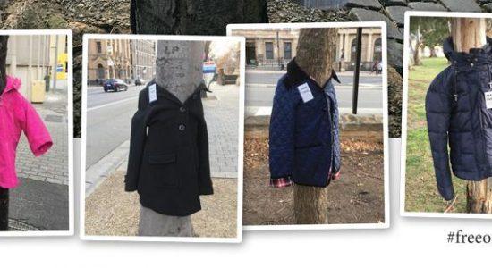 Des manteaux pousseront aux arbres pour les personnes dans le besoin - Suzie Genest