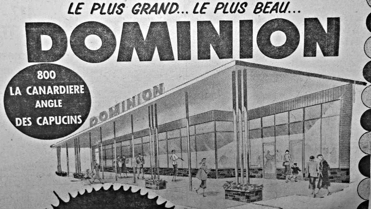 Limoilou dans les années 1950 (44): Dominion s'installe dans le quartier | 10 février 2019 | Article par Jean Cazes