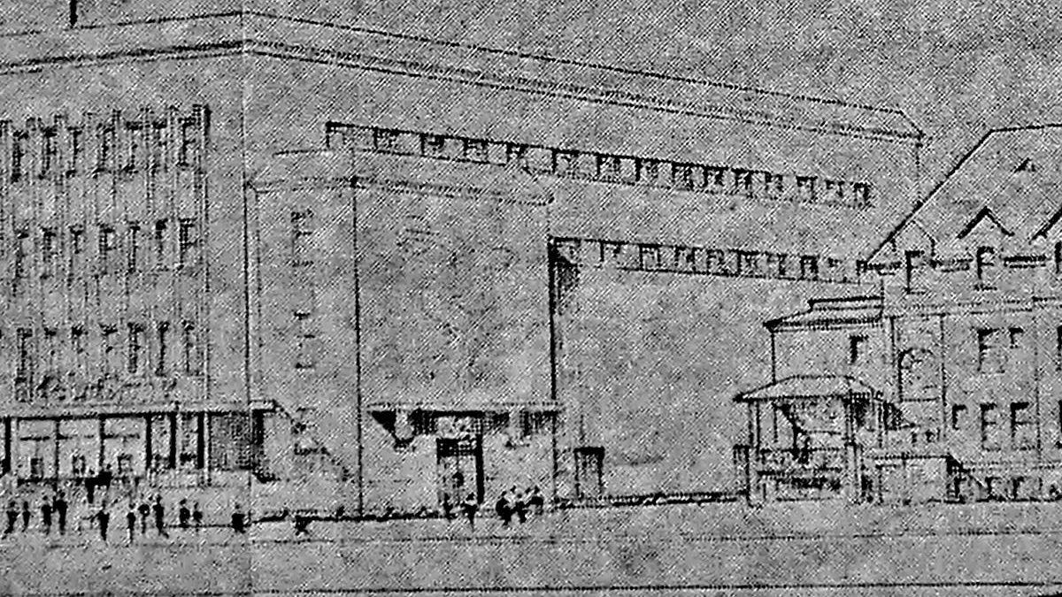 Illustration de l'article du Courrier de Limoilou. 1er mars 1960.