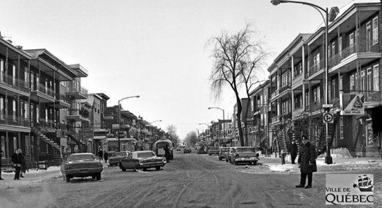 Limoilou dans les années 1960 (103) : accident sur la 3e Avenue - Jean Cazes