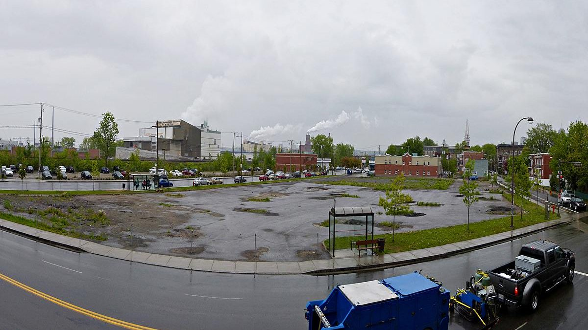Site de l'Îlot des Capucins. Mai 2013.