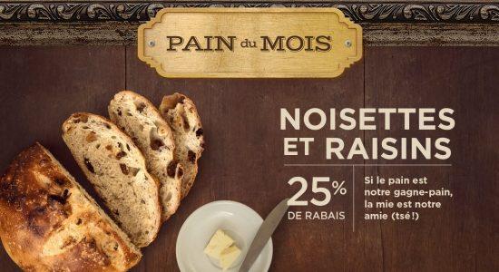 Pain du mois | Boîte à Pain – Café Napoli