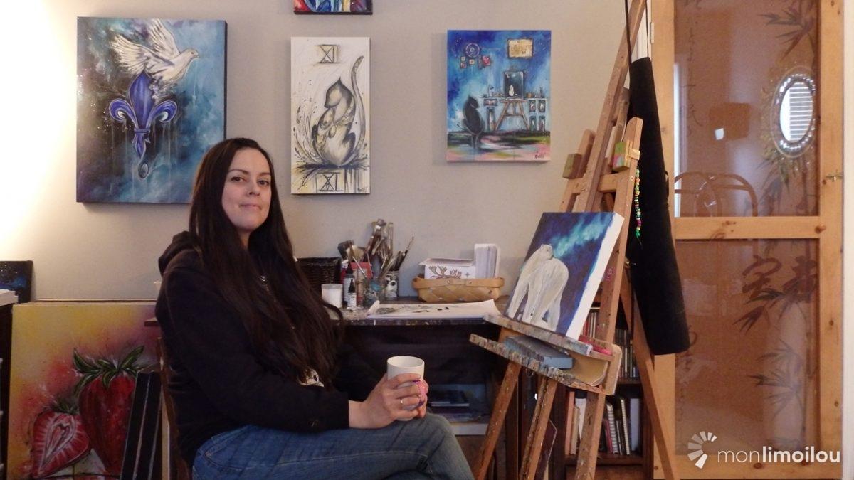 Rashël: parcours d'une artiste peintre pour vivre son rêve | 12 décembre 2018 | Article par Baptiste Piguet