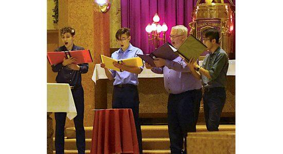 Une Messe des artistes pour l'unité des chrétiens - Véronique Demers