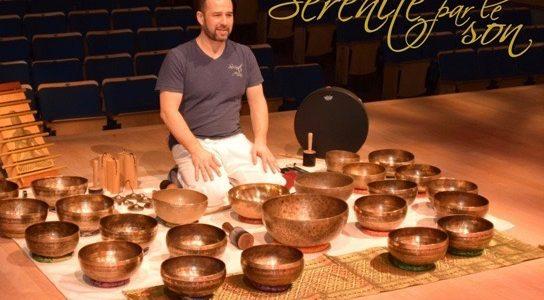 Atelier : Concert-méditatif au son des bols tibétains et yin yoga