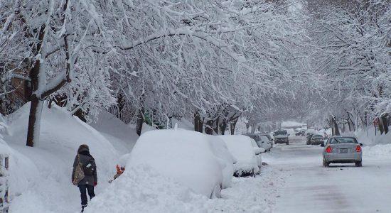 Secteur Lauret, 20 mars 2008 : les 5 mètres de neige sont défoncées!