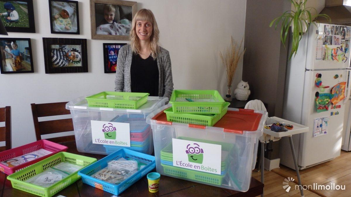 L'École en Boîtes: un outil pédagogique pour les 6-9 ans fait à Limoilou | 13 février 2019 | Article par Baptiste Piguet