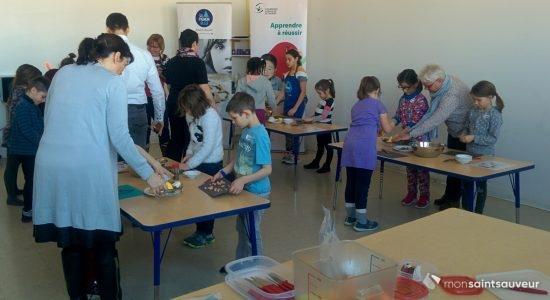 Le Pignon Bleu, porteur régional des Ateliers de cuisine-nutrition au primaire - Suzie Genest