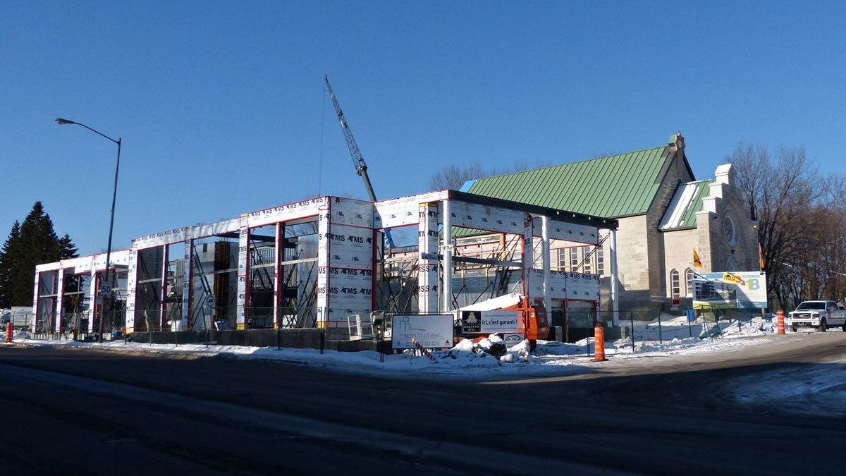 Le 18 phase 3 en chantier. 23 janvier 2014.