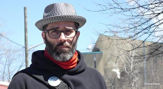 Mathieu Goulet du Mouvement pour une ville Zéro Déchet