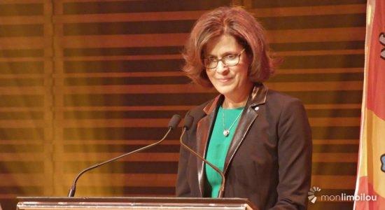 Sophie D'Amours, rectrice de l'Université Laval