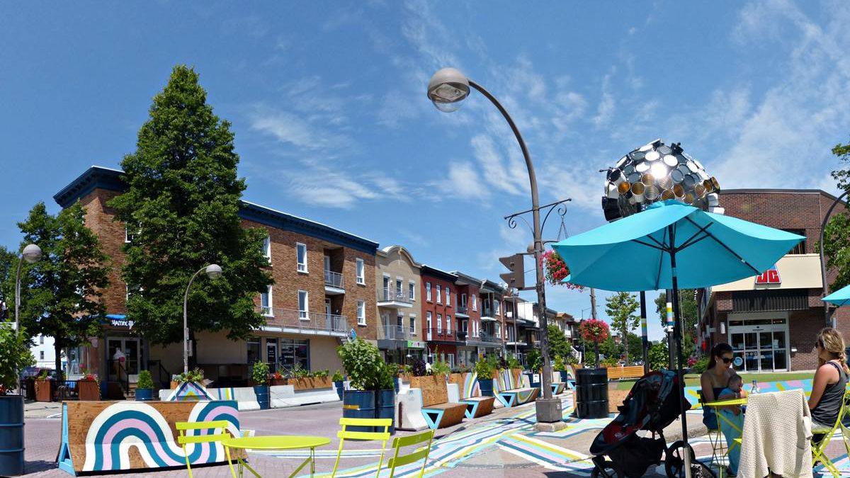 Plaza Limoilou. 16 juillet 2015.