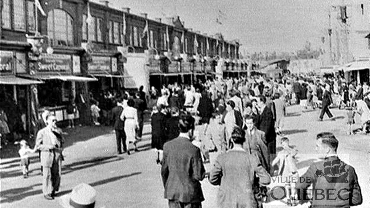 Limoilou dans les années 1940 (36) : Fête du Travail à l'Exposition provinciale | 1 septembre 2019 | Article par Jean Cazes
