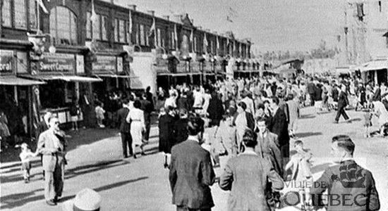 Limoilou dans les années 1940 (36) : Fête du Travail à l'Exposition provinciale - Jean Cazes