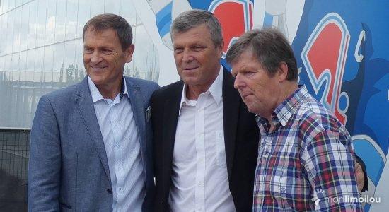 Les Stastny désormais immortalisés à la place Jean-Béliveau - Jean Cazes