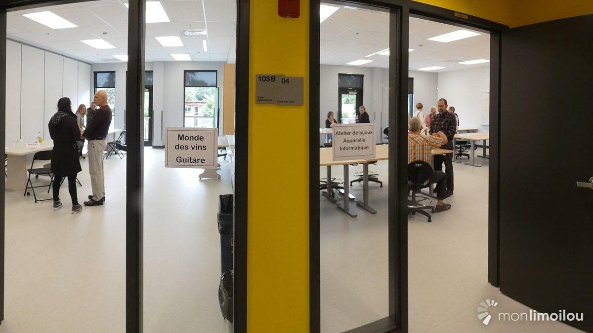 Salles de cours et d'ateliers