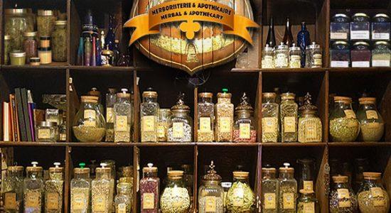 Service personnalisé d'herboristerie en boutique et en ligne | Charme & Sortilège