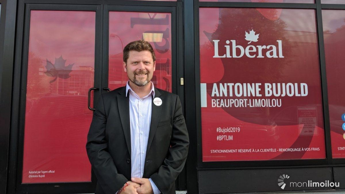 Élections fédérales 2019: rencontre avec Antoine Bujold (PLC) | 2 octobre 2019 | Article par Amélie Légaré