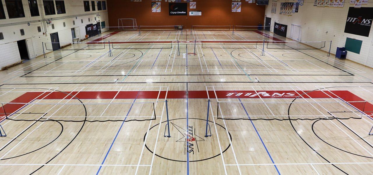 Réserver un terrain ou un gymnase | Complexe sportif du Cégep Limoilou