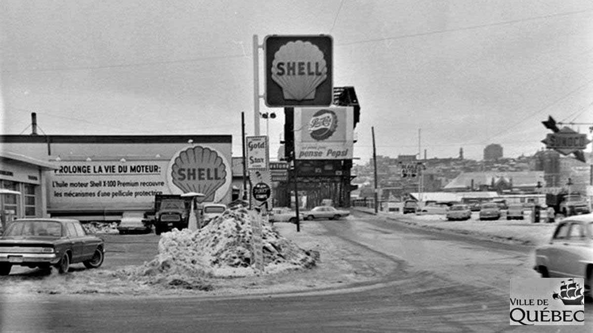 Limoilou dans les années 1960 (116) : une station-service Shell | 8 décembre 2019 | Article par Jean Cazes