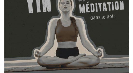 Atelier – 6e sens, yin et méditation dans le noir
