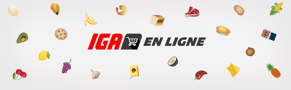 Livraison de votre épicerie | IGA Pierre Jobidon