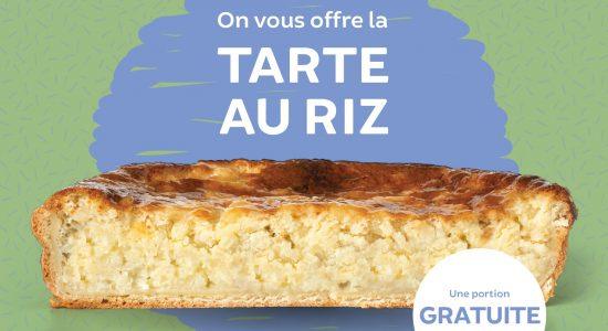 Tarte au riz pour les 20 ans de La boîte à pain | Boîte à Pain – Café Napoli