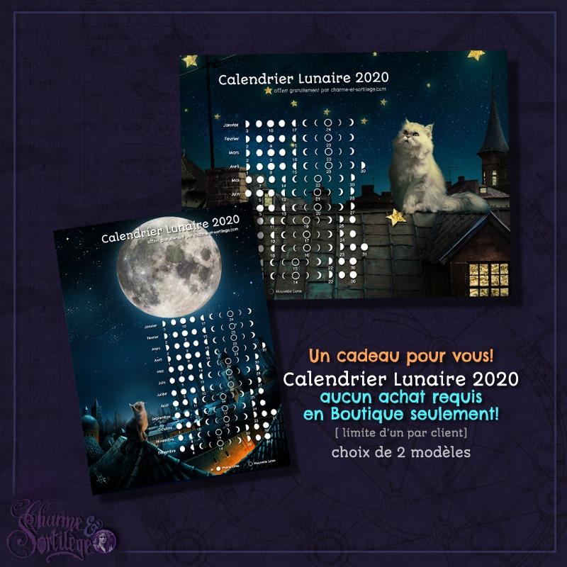 Calendrier lunaire gratuit | Charme & Sortilège