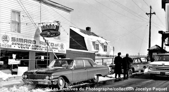 Limoilou dans les années 1960 (121) : commerce Simard Autos Parts - Jean Cazes