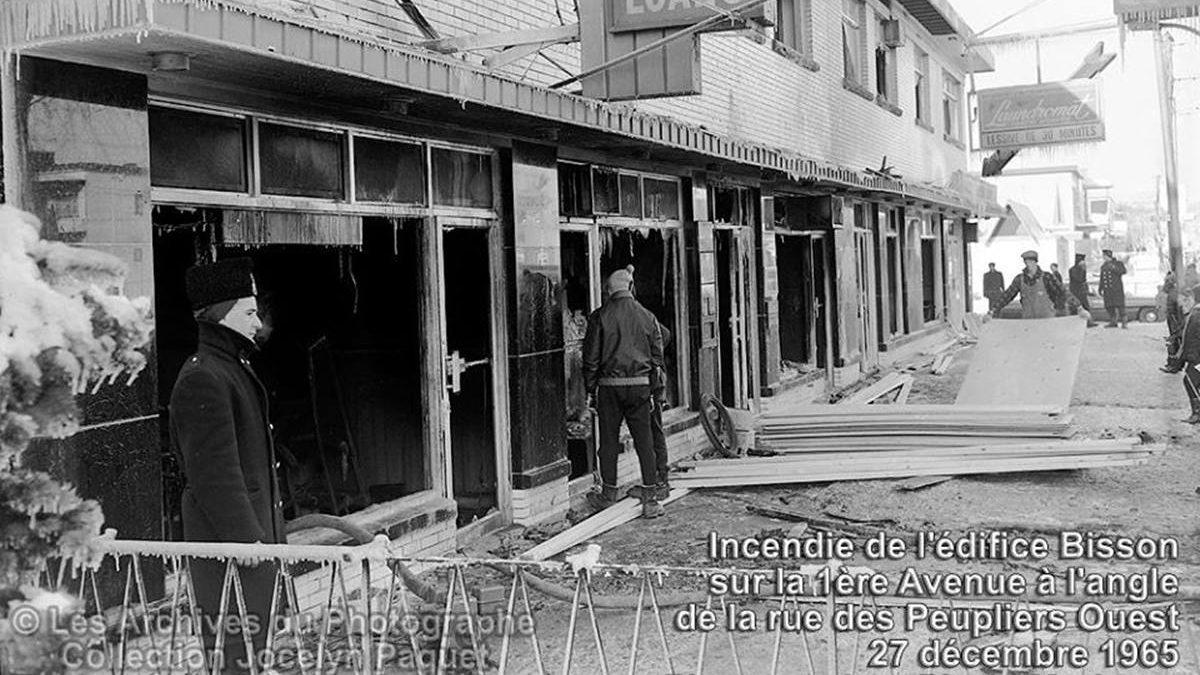 Limoilou dans les années 1960 (122) : incendie d'un immeuble commercial de Lairet | 1 mars 2020 | Article par Jean Cazes