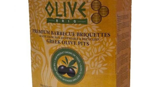 Briquettes de charbon de noyau d'olives, 3 kg | Quincaillerie Limoilou