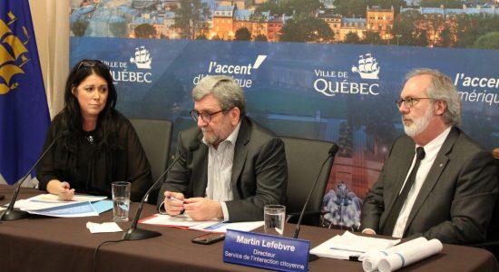 La Ville de Québec maintient les référendums - Véronique Demers