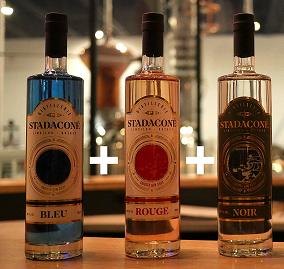 À l'achat du trio de gins Stadaconé, recevez une tuque gratuitement ! | Distillerie Stadaconé