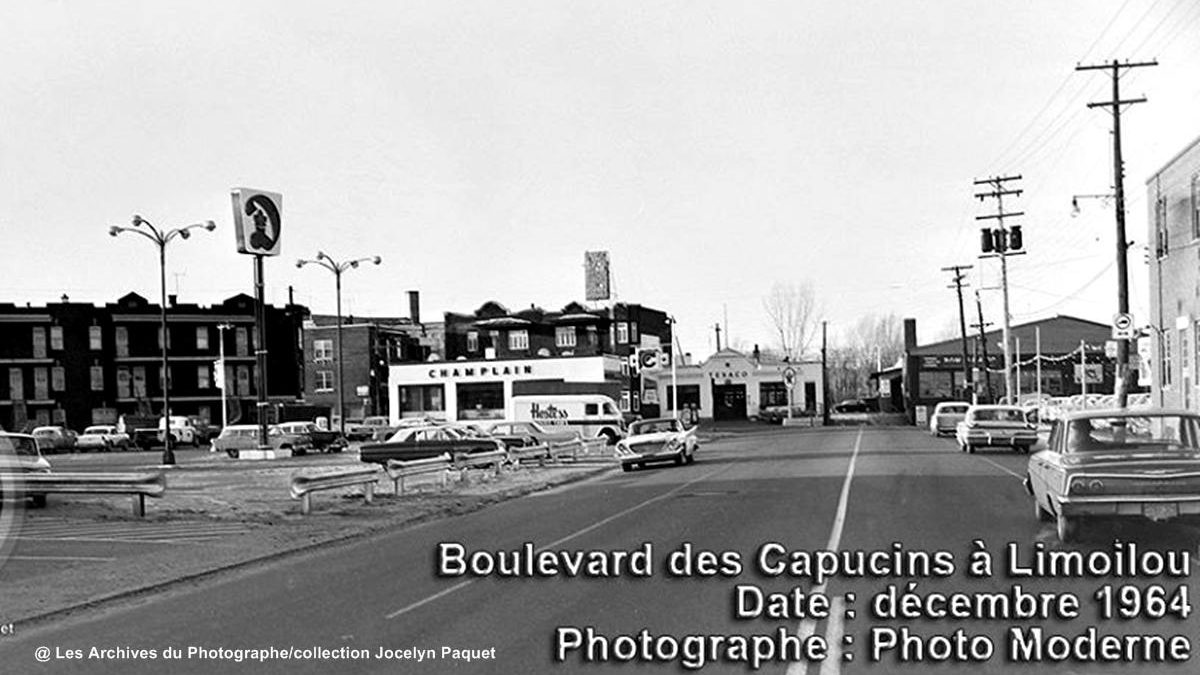 Limoilou dans les années 1960 (125) : intersection des Capucins et de la Canardière | 12 avril 2020 | Article par Jean Cazes