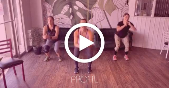 Vidéos d'entraînements gratuits | Profil - Centre de mise en forme pour la femme